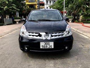 Bán Nissan Grand livina năm 2012, màu đen số tự động
