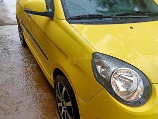 Bán Kia Morning đời 2010, màu vàng, nhập khẩu nguyên chiếc xe gia đình, 217tr