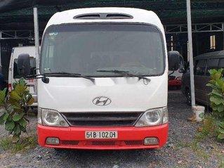 Chính chủ bán ô tô Hyundai County năm sản xuất 2007, màu đỏ
