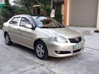 Bán lại xe Toyota Vios đời 2007, màu vàng cát