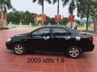 Cần bán xe Toyota Corolla Altis năm sản xuất 2003, màu đen, nhập khẩu nguyên chiếc, 168 triệu