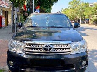 Cần bán xe Toyota Fortuner năm 2009, màu đen đẹp như mới
