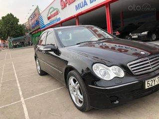 Cần bán gấp Mercedes C180 đời 2005, màu đen