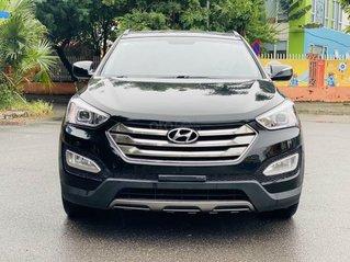 Cần bán gấp Hyundai SantaFe sản xuất năm 2013, màu đen siêu mới giá tốt