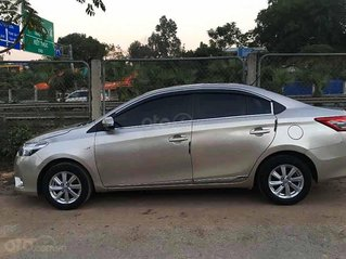 Bán Toyota Vios đời 2015, màu bạc, giá chỉ 325 triệu