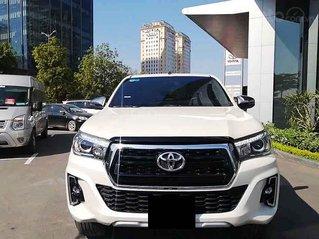 Bán Toyota Hilux sản xuất 2019, màu trắng, nhập khẩu, số tự động