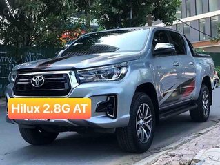 Bán Toyota Hilux sản xuất năm 2018, màu bạc, nhập khẩu Thái