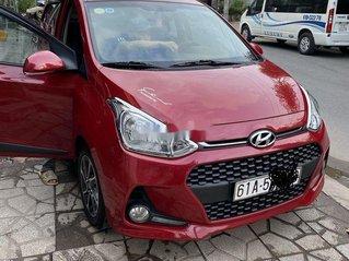 Bán Hyundai Grand i10 năm sản xuất 2017, màu đỏ, full options