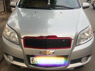 Chính chủ bán xe Chevrolet Aveo đời 2015, màu bạc