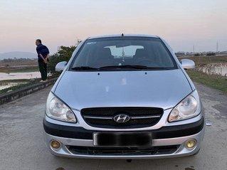 Bán xe Hyundai Click sản xuất 2008, màu bạc số sàn