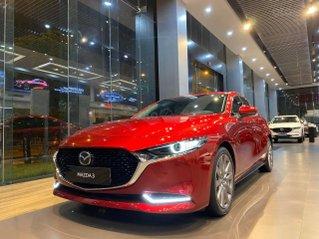 Bán Mazda 3 2020 giá siêu tốt, hỗ trợ trả góp lãi suất cực ưu đãi, giao xe ngay, tặng phiếu dịch vụ 5 triệu