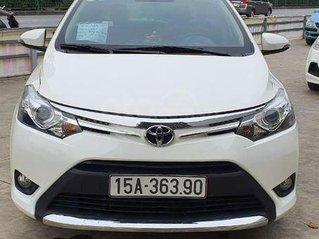 Bán nhanh Toyota Vios 2017 bản G, màu trắng