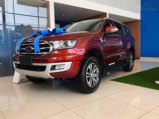 Bán Ford Everest năm 2020, màu đỏ, xe nhập, giá cạnh tranh
