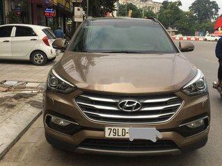 Bán Hyundai Santa Fe năm 2018, màu nâu còn mới, 840 triệu
