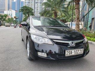 Bán xe Honda Civic 2.0 AT i-Vtec sản xuất năm 2007 màu đen chỉ việc lấy về đi, xe cực đẹp