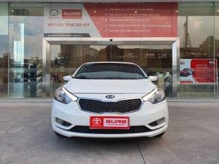 Cần bán xe Kia K3 2.0AT 2014 màu trắng gia đình BS Đồng Nai đi 82.888km - xe cũ chính hãng giá tốt