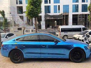 Bán xe Audi A5 2.0 Sportback năm 2014, màu xanh lam, xe nhập