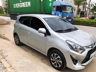 Bán ô tô Toyota Wigo sản xuất 2018, màu bạc, nhập khẩu số sàn