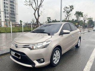 Bán Toyota Vios đời 2014, màu vàng cát