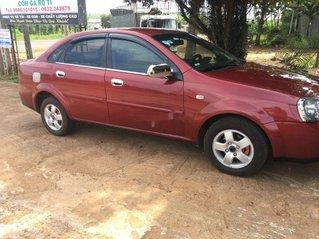 Cần bán lại xe Daewoo Lacetti 2005, màu đỏ, nhập khẩu chính chủ