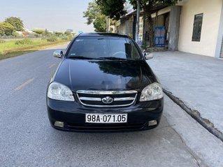 Cần bán gấp Daewoo Lacetti sản xuất 2007, màu đen như mới