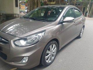 Cần bán lại xe Hyundai Accent đời 2011, màu nâu, xe nhập