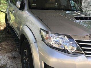 Bán Toyota Fortuner năm sản xuất 2016, màu bạc