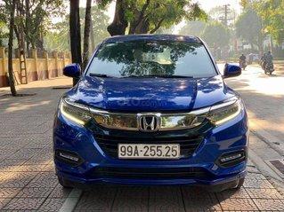 Cần bán gấp Honda HRV đời 2018, màu xanh lam