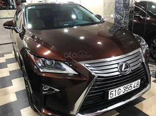 Cần bán lại xe Lexus RX năm sản xuất 2017, màu nâu, nhập khẩu còn mới