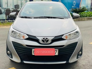 Bán Toyota Vios E MT 2019, màu bạc