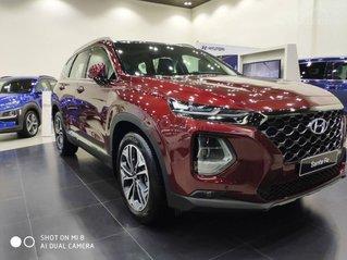 Hyundai Santa Fe ưu đãi 60 triệu tiền mặt, full phụ kiện, 50% thuế trước bạ, xe đủ màu giao ngay