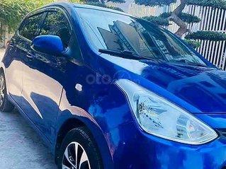 Cần bán gấp Hyundai Grand i10 sản xuất năm 2014, màu xanh lam còn mới