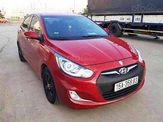 Xe Hyundai Accent sản xuất năm 2010, màu đỏ còn mới