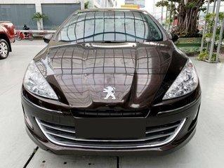 Bán xe Peugeot 408 Premium sản xuất năm 2018, màu nâu