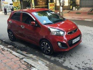 Cần bán Kia Morning màu đỏ sản xuất năm 2014 xe gia đình