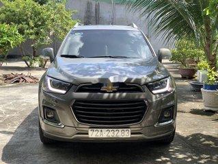 Bán xe Chevrolet Captiva năm sản xuất 2017, màu xám còn mới, giá 588tr