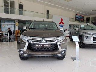 Hỗ trợ mua xe giá thấp với chiếc Mitsubishi Pajero Sport 2.4MT đời 2020, giao nhanh