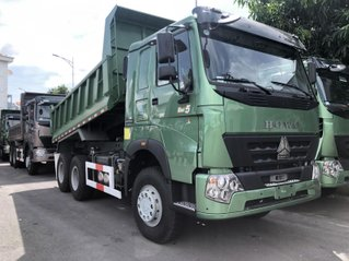 Xe ben Howo Sinotruk 6×4 (3 chân)12 tấn - thùng Hyundai, xe có sẵn, giao ngay