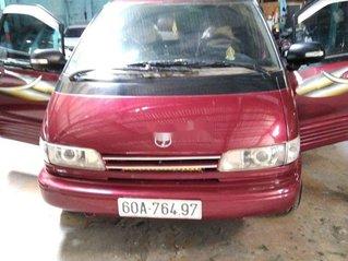Cần bán xe Toyota Previa đời 1991, màu đỏ, xe nhập chính chủ, giá chỉ 130 triệu