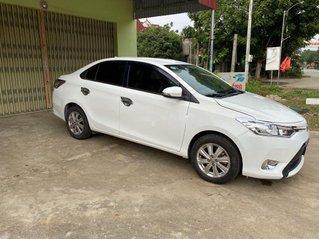 Bán Toyota Vios sản xuất năm 2017, màu trắng chính chủ, giá chỉ 385 triệu
