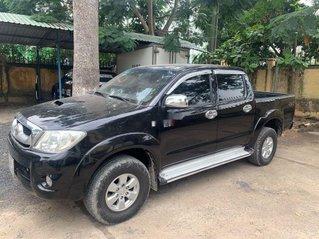 Bán Toyota Hilux 2009, màu đen, nhập khẩu, giá tốt
