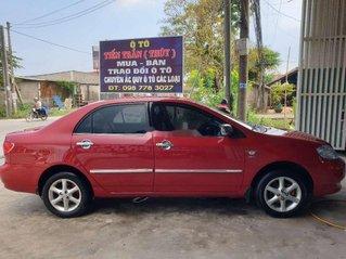 Bán Toyota Corolla Altis đời 2001, màu đỏ chính chủ, giá 205tr