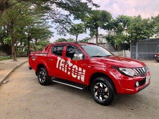 Cần bán xe Mitsubishi Triton đời 2015, màu đỏ, xe nhập số sàn, 385 triệu