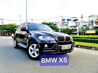 BMW X5 3.0 loại 7 chỗ nhập mỹ 2008 màu đen full đồ chơi cao cấp cửa sổ trời Parorama số tự động hai cầu nội thất niệm da