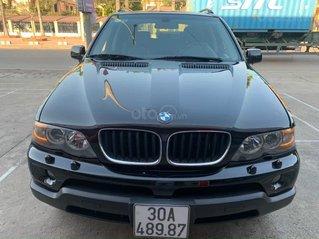 Cần bán xe BMW X5 SX năm 2005, màu đen