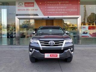 Cần bán xe Toyota Fortuner 2.7V 4x2 AT 2017 màu xám, xe gia đình, HCM - xe cũ chính hãng giá tốt