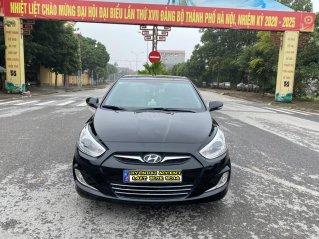 Hyundai Accent 1.4AT Blue cuối 2014, nhập khẩu, tự động, màu đen bản full kịch option. Vào 20 triệu đồ chơi