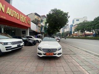 Bán xe Mec C200 sản xuất 2015 màu trắng nội thất đen biển HN đi chuẩn 30.000km bao check hãng toàn quốc