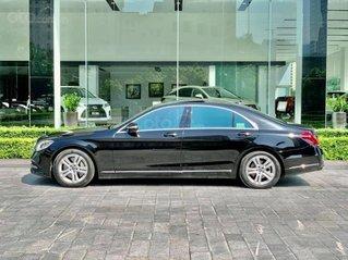 Mercedes S450L đen nội thất nâu, sản xuất 2017, 25.000km