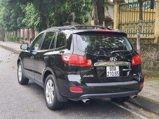 Cần bán lại xe Hyundai Santa Fe 2008, màu đen, xe nhập